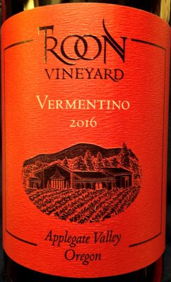 3193a73fe491 TROON VINEYARD  Vibrant Vermentinos from Southern Oregon